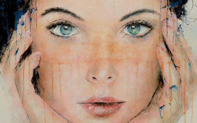 Peinture à l'huile sur toile - 60x60cm