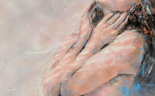 Peinture à l'huile sur toile - 55x65cm